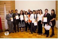 Coordinador Claudio Sanhueza Araneda entrega de Diplomas a 32 Alumnos