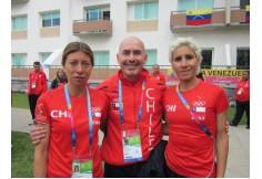 Masoterapeutas Deportivos trabajando en las Olimpiadas junto a Erika Olivera