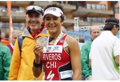 Masoterapeutas Deportivos Trabajando junto a Barbara Rivera.