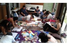 Hermosos Taller de ArteTerapia con Mandalas realizado en Centro Munay Costa Rica!,
